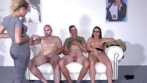 Casting Wendy Moon deals two dudes like a pro