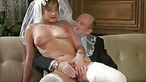 Hot Bride German Retro Classic Film - 1989 Year