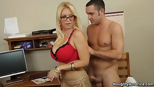 Vocal sexual intercourse giving out in all directions my hot blonde teacher