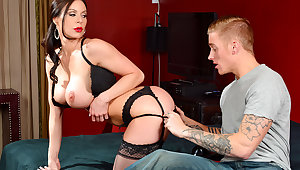 Kendra Lust & Richie Blacklist in My Friends Hot Matriarch