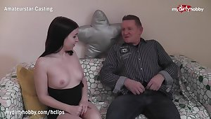 MyDirtyHobby - Shagging her tempo friends daddy mainly her dado while she's away