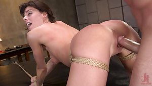 Hardcore sex in doggy extreme for insolent Lexi Foxy