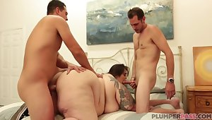 Bbw Bottoms Cant Obtain Enough Of This Cock And Wants More - Johnny Champ, John Strange And Veronica Bottoms