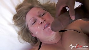 Mature Lady Lacey Starr And Will not hear of New Lesbian Friend Luna Rival