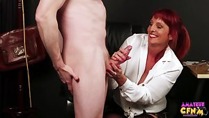 Mature sucks dick should prefer to in fantasy CFNM video